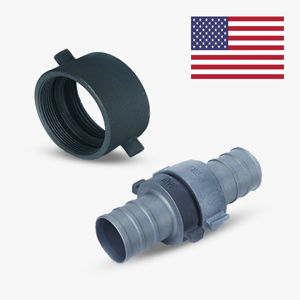 American hose coupling system
