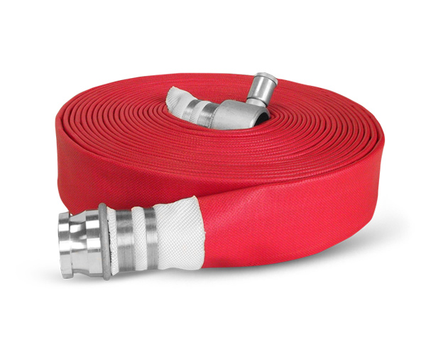 Elite-coated layflat fire hose type 2